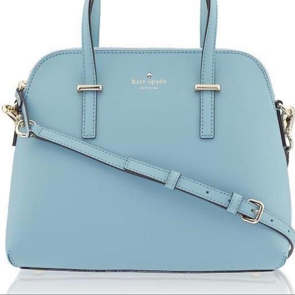 kate spade Handbags - Kate Spade Baby Blue Cedar Street Maise Satchell